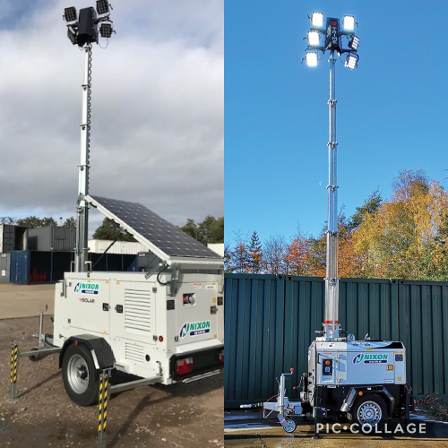 News Item: Nixon Hire Stocks Up with Eco Lighting Towers from MHM Plant