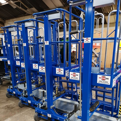 News Item: One Stop Hire Purchases X400 Work Platforms from Clow Group