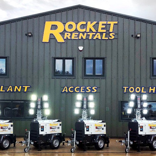 News Item: Rocket Rentals Get Up To Speed With X-ECO LED Lighting Towers