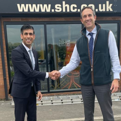 News Item: SHC Completes Purchase of Hartley Hire for Seven-figure Sum