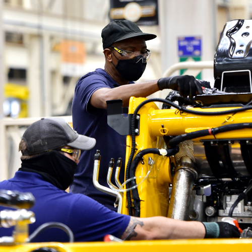 News Item: Soaring Demand Creates 100 New Welding Jobs at JCB