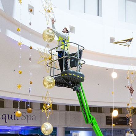 News Item: Star Platforms Helps Bring Christmas to Merry Hill Shopping Centre