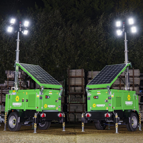 News Item: Sunbelt Rentals Invest £12million in Trime Lighting Towers