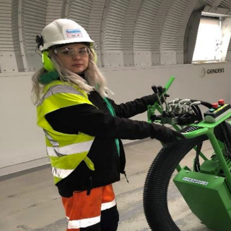News Item: The First Woman to Achieve a Highly Specialised Industry Qualification