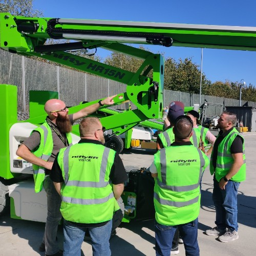 News Item: Training at Niftylift for Finnish Dealer