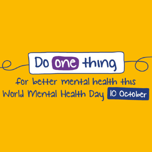 News Item: World Mental Health Day 10th October
