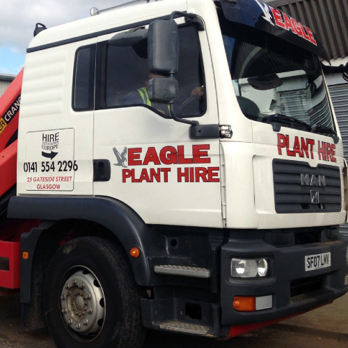 News Item: Eagle Plant Hire Builds Customer Success with Syrinx