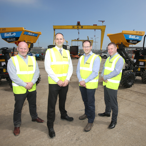 PRESS RELEASE:  Jobs Boost at Balloo Hire as Part of £10m Investment