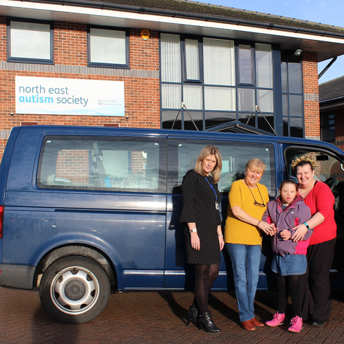 PRESS RELEASE: Activa Contacts Helps North East Autism Society To Equip Fleet With Industry-Leading Lightfoot Technology