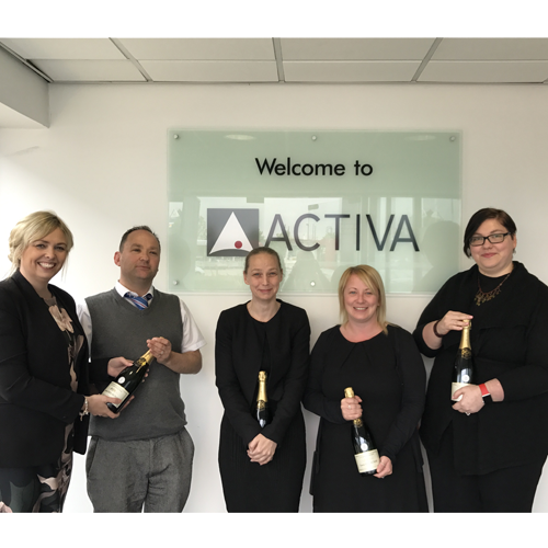 PRESS RELEASE: Activa Contracts Trio First To Complete Customer Service NVQ