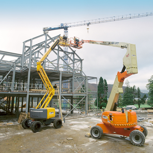 PRESS RELEASE: AFI Boom Lifts Help Contractors To Complete Hotel Steelwork To Schedule
