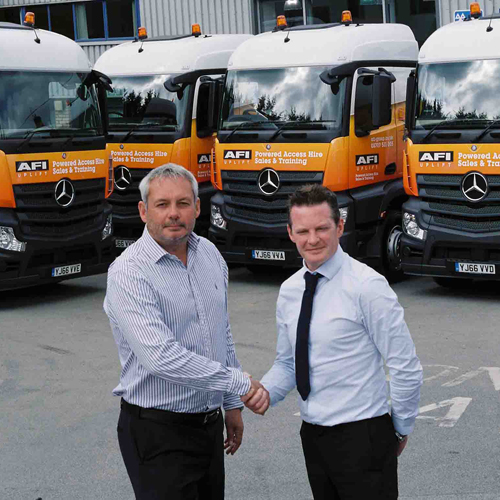PRESS RELEASE: AFI Makes Further Investments In Its Delivery Vehicle Feet