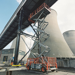 PRESS RELEASE: AFI Powered Access Machines On Site At Cottam Power Station