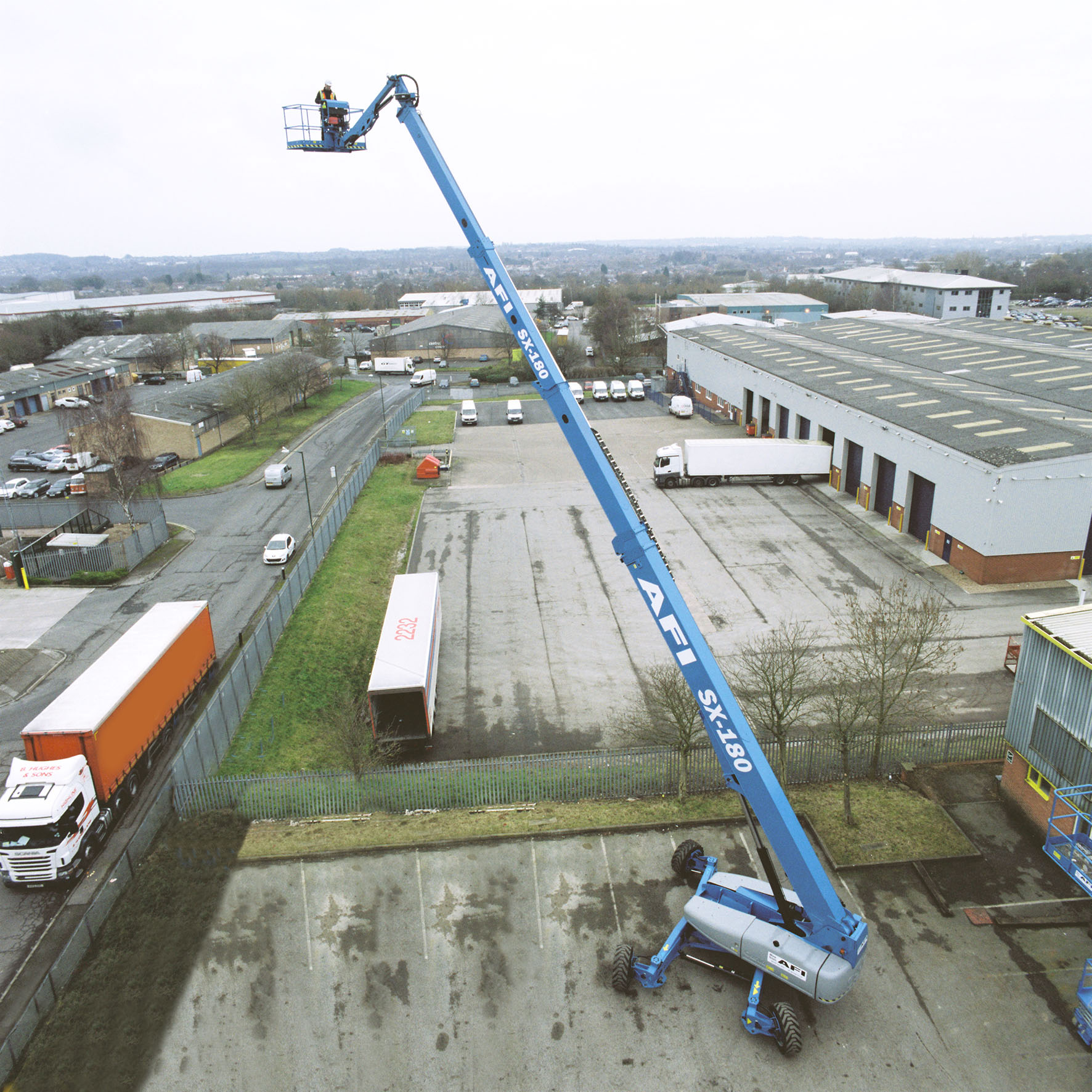 PRESS RELEASE: AFI Purchases Two Of The World's Largest Boom Lifts