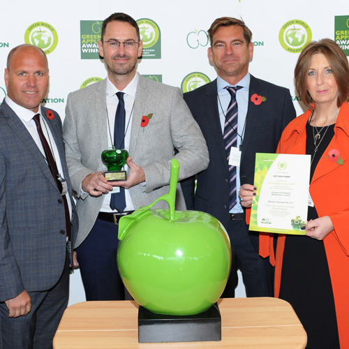 PRESS RELEASE: AJC EasyCabin are on the way to International Green Glory