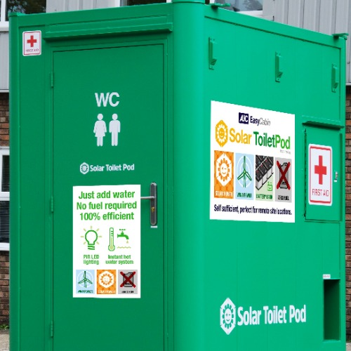 PRESS RELEASE: AJC EasyCabin turns green at the Showman's Show