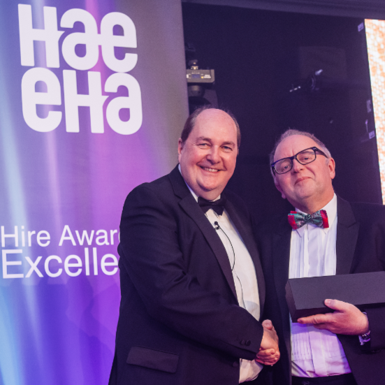 PRESS RELEASE: Amazing Achievements Celebrated at Hire Awards Ceremony