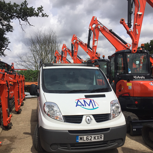 PRESS RELEASE: AMI Group Nominated as a crème De La Crème Supplier to The Plant Hire Industry