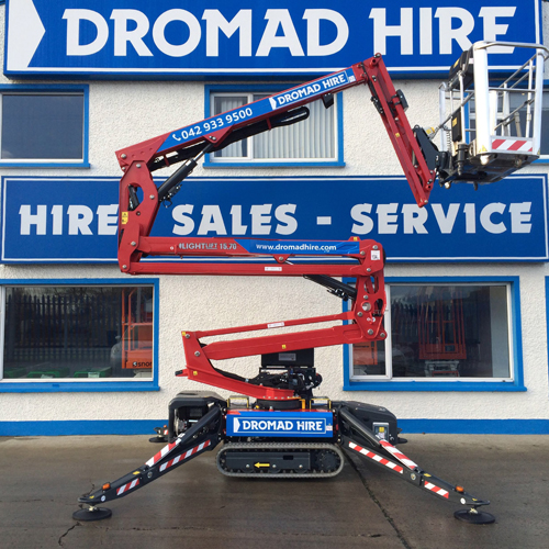PRESS RELEASE: Another First For Dromad Hire