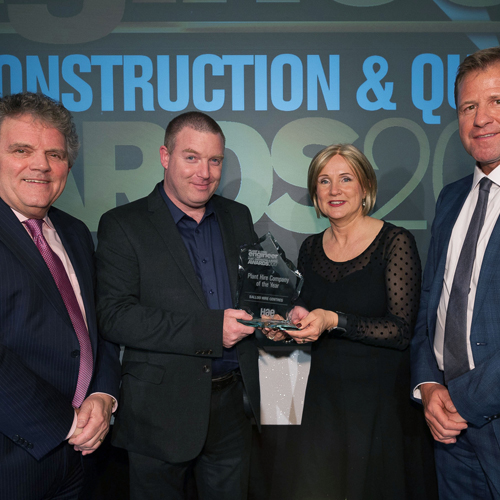 PRESS RELEASE: Balloo Hire Centres Voted 'Plant Hire Company of the Year'