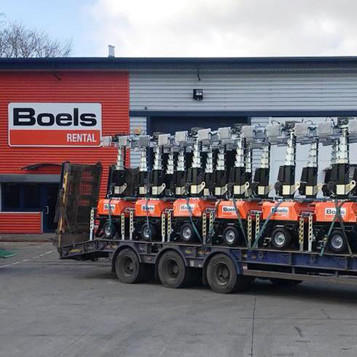 PRESS RELEASE: Boels Get a Chain Reaction