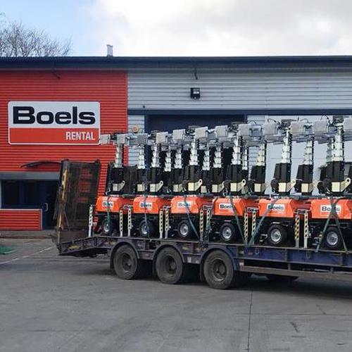 PRESS RELEASE: Boels Get a Chain Reaction