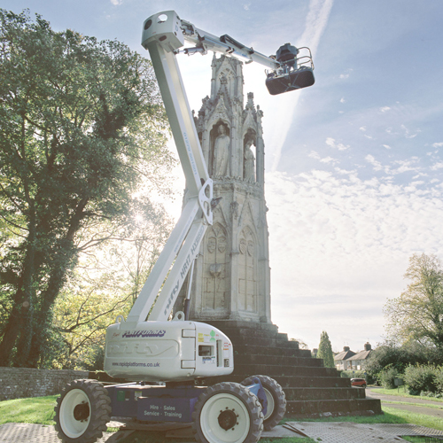PRESS RELEASE: Boom Lift Helps To Safeguard Ancient Monument