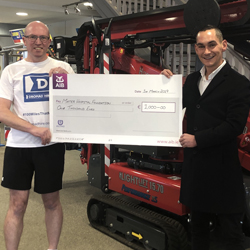 PRESS RELEASE: Dromad Hire Supports the Mater Hospital Foundation