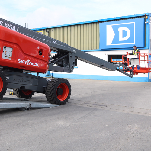 PRESS RELEASE: Dromad Takes Delivery of Skyjack Super Boom