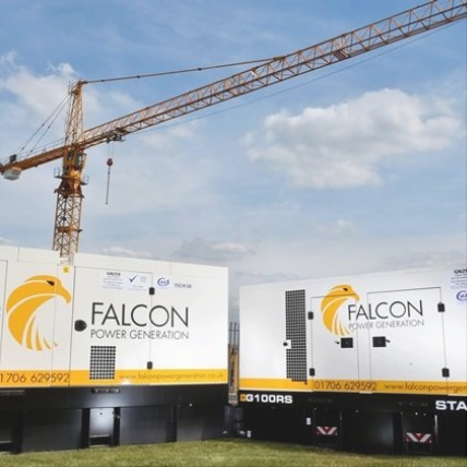 PRESS RELEASE: Falcon Selects JCB Generators for its Power Fleet