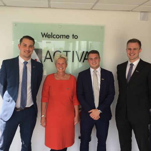 PRESS RELEASE: Fast-Growing ACTIVA Contracts Builds On Employee Training And Development With Area Manager Promotions