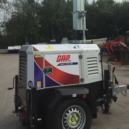 PRESS RELEASE: GAP Adds To Largest UK Fleet of X ECO Lighting Towers