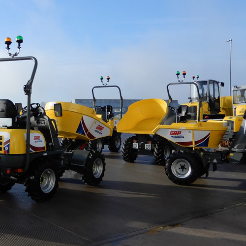 PRESS RELEASE: GAP Expands Their Fleet of Swivel Skip Dumpers