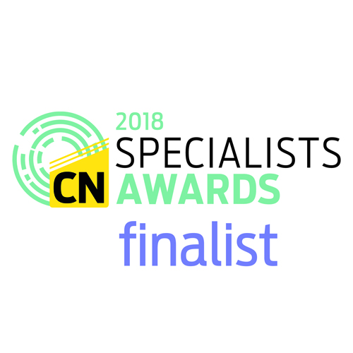 PRESS RELEASE: GAP is Shortlisted for the Construction New Specialists Awards 2018