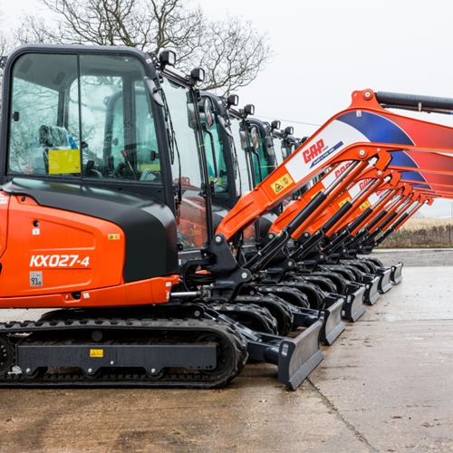 PRESS RELEASE: GAP Leads the Way with Kubota KX027-4