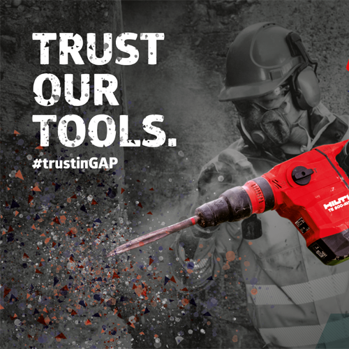 PRESS RELEASE: GAP Underlines Tool Hire Credentials