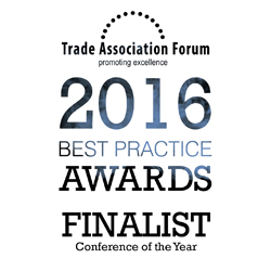 PRESS RELEASE: HAE EHA Shortlisted For Trade Association Forum's 'Best Practice Awards 2016'