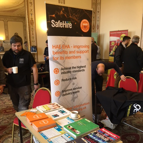 PRESS RELEASE: HAE Receives a Warm Welcome at Super Six Health & Safety Event