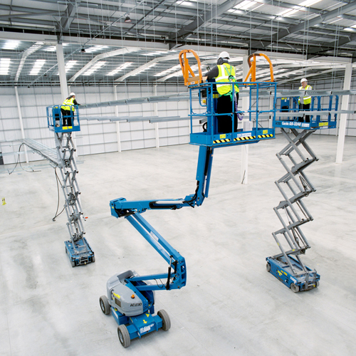 PRESS RELEASE: Hampshire Plant & Access Machines On Site At New Distribution Centre