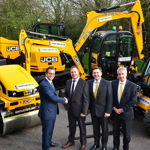 PRESS RELEASE: Hire Firm Invests £25M in 450 JCBs