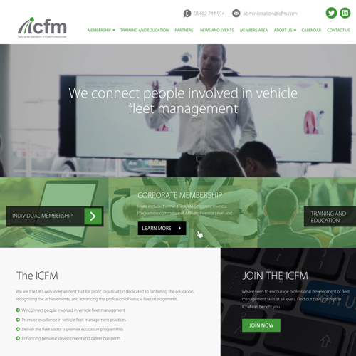 PRESS RELEASE: ICFM Unveils New Website With Added Functionality
