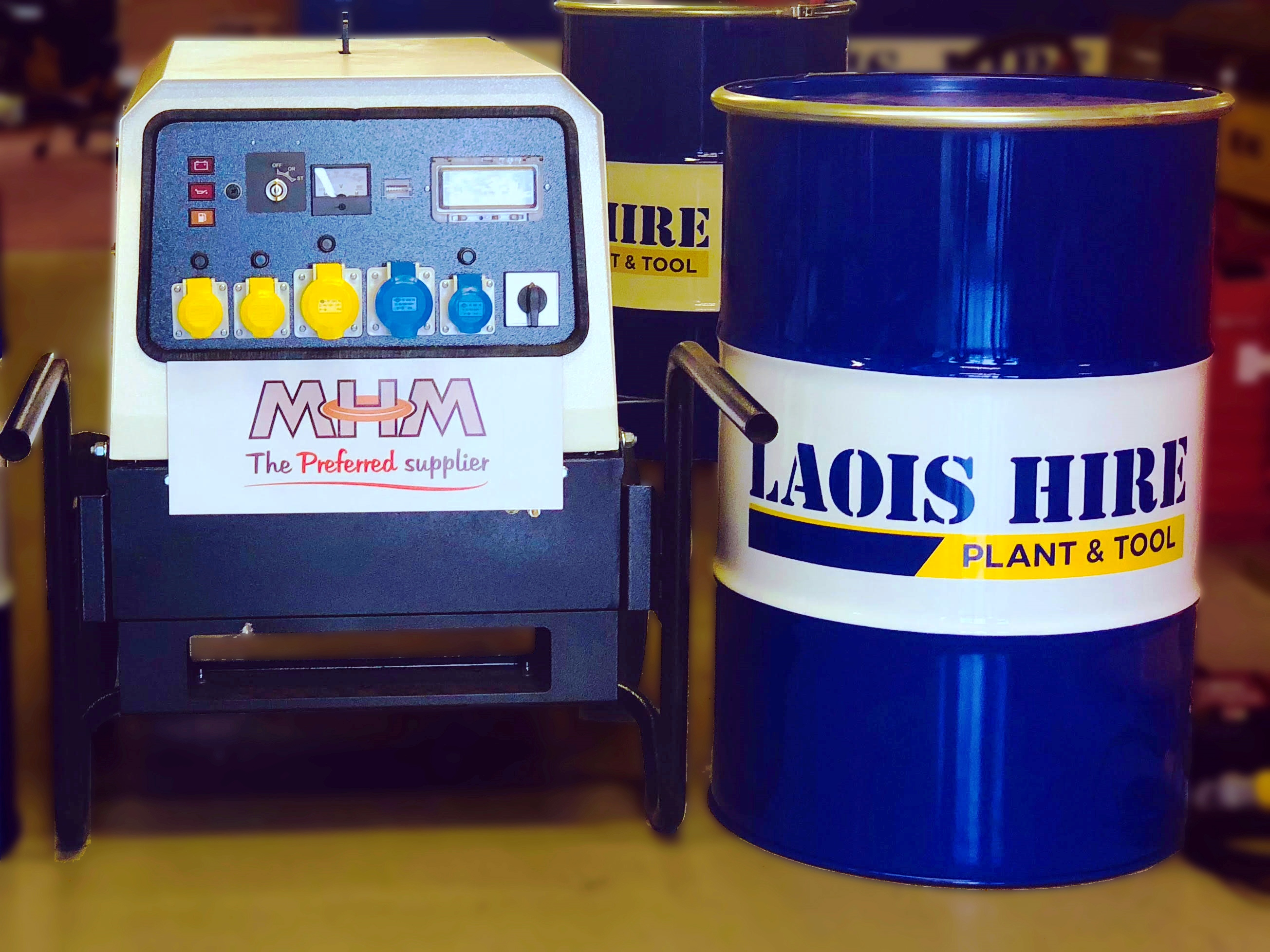 PRESS RELEASE: Laois Hire and MHM Plant Combie in Ireland
