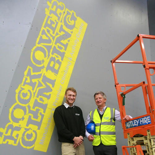 PRESS RELEASE: Leigh Hire Firm Helps Olympic Hopefuls Reach New Heights With New Climbing Wall In Manchester