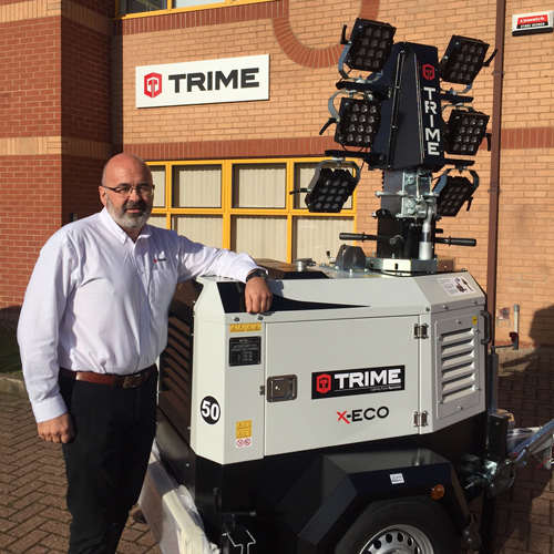 PRESS RELEASE: Lighting Tower Leader Trime (UK) Limited Appoint New Sales Manager