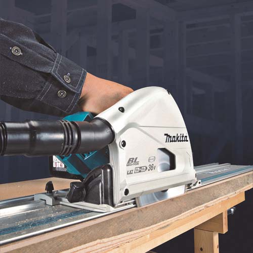 PRESS RELEASE: Makita Extends Twin 18v Power To Brushless LXT Plunge Saw