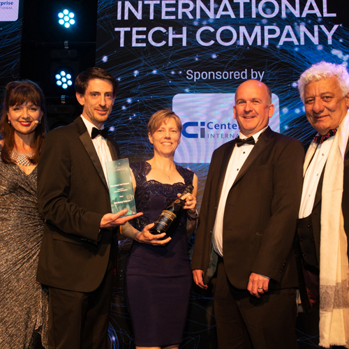 PRESS RELEASE: MCS Wins 'International Tech Company' in the Thames Valley Tech Awards