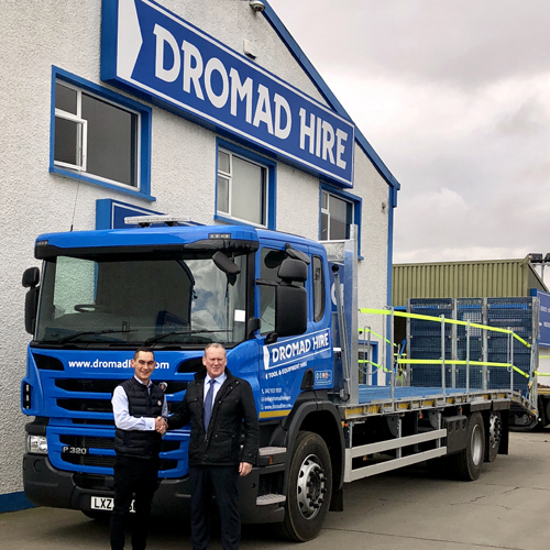 PRESS RELEASE: More Specialised Scania Trucks For Dromad Hire