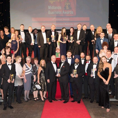 PRESS RELEASE: Morris Site Machinery Highly Commended at Midlands Business Awards