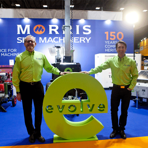 PRESS RELEASE: Morris Site Machinery Means Business On International Stage