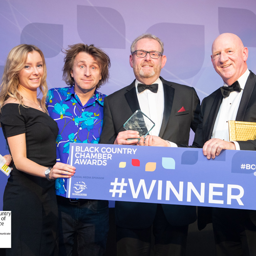 PRESS RELEASE: Morris Site Machinery Wins Big at Black Country Awards